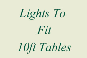 10ft Table Lights