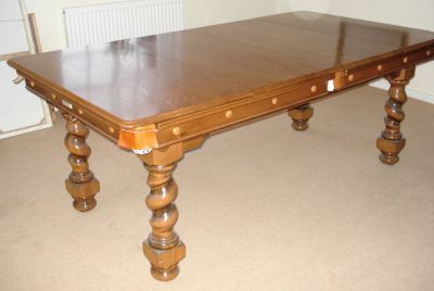 6ft Pool Dining Tables