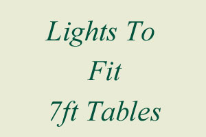 7ft Table Lights