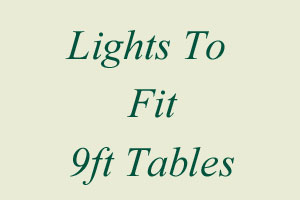9ft Table Lights