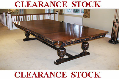 Clearance Antique Pool Dining Tables