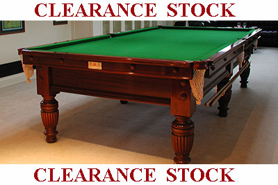 Clearance Antique Snooker Tables