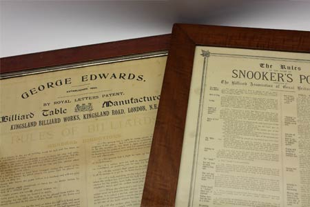 Antique Framed Rules - Prints