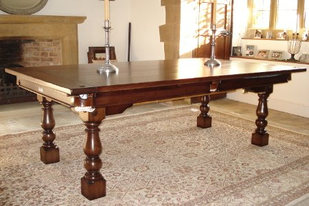 Antique Pool Dining Tables