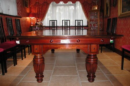 7ft Pool Dining Tables