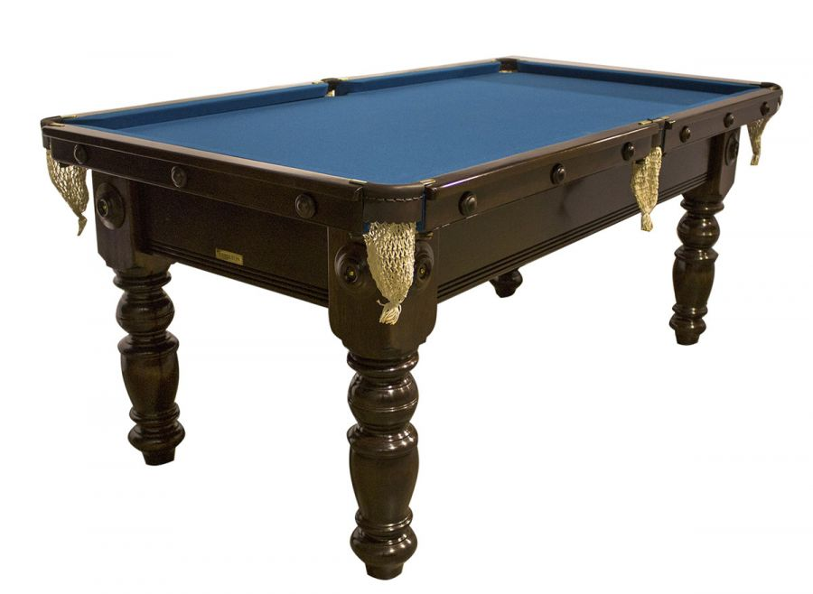 M1020 6 Ft Mahogany Pool Table With Turned Legs - How Much Room Do You Need For A 6 Foot Pool Table