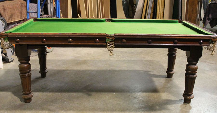 M1104 6 Ft Mahogany Snooker Pool Convertible Dining Table