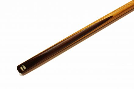 One piece snooker cue