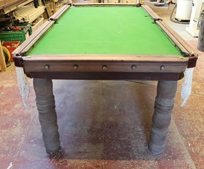 (H930) 6ft Stevens & Sons Mahogany Convertible Snooker / Dining Table