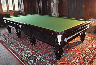 (H887) Victorian Full-size Billiard/Snooker Table by Wrights of London