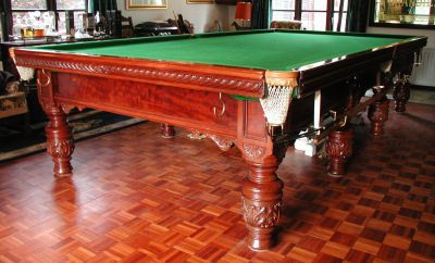 (M093) Mahogany Table, Full-size by Ashcroft of Liverpool