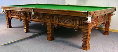 Reproduction Russian Billiard Table