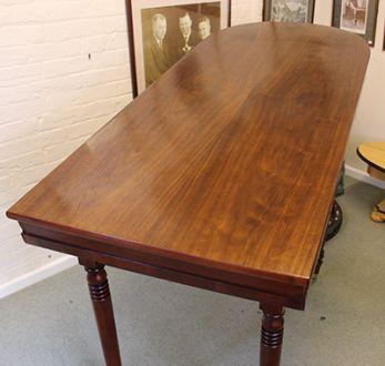 (MIS52) Mahogany Bagatelle Table