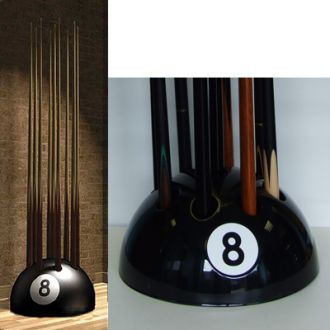 Eight Ball Cue Rack