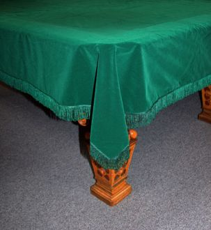 material table cover for snooker