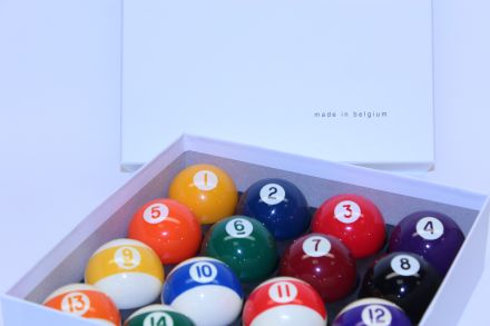 Aramith 2 inch (51mm) 16 Ball Screen Printed Pool Balls (spots and stripes)
