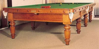 Edwardian Snooker Table
