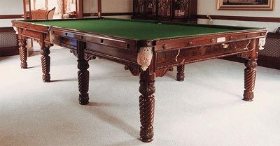 Victorian Full Size Snooker Table