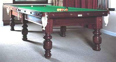 Edwardian Undersize Snooker Table