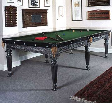 Victorian Cast Iron Snooker Table