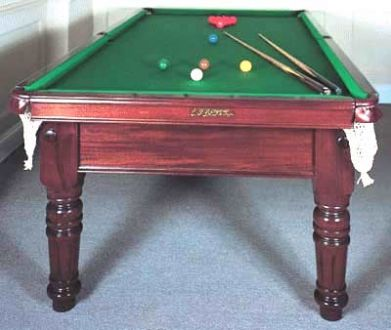 Antique Edwardian Snooker Table