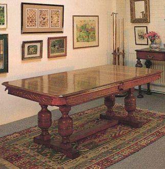 Oak Snooker Table