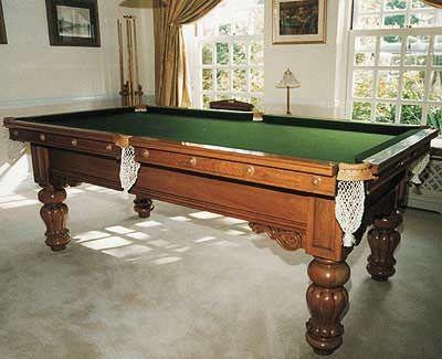 Walnut Pool Table