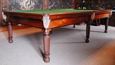 Full Size Billiards Table by Gillows