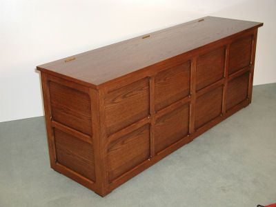 Leaf Cabinet Bench Seat for Snooker