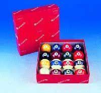 Single Aramith Screen Printed Pool Balls