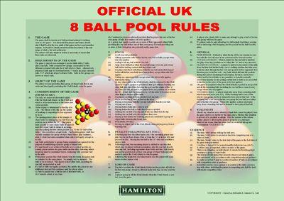 UK Pool Rules - Sheet