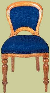 Reproduction Victorian Dining Chair