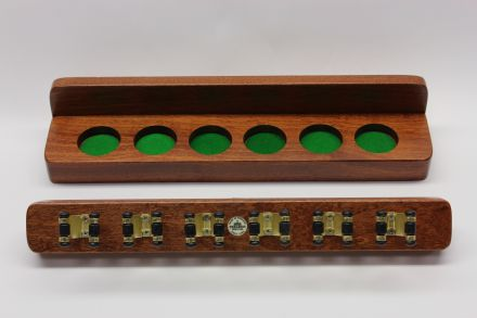 wall rack for snooker cues