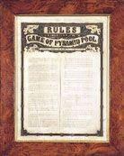 Original pyramid pool rules