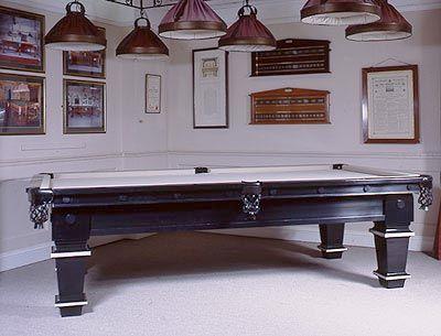 Pool Table designed with Paris Interior Decorators