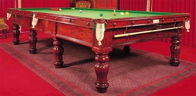 Snooker Table in Moscow, Russia
