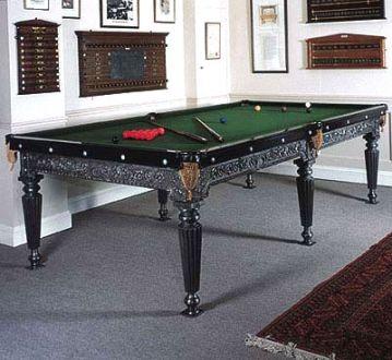 Antique Billiard/Pool Table, Switzerland