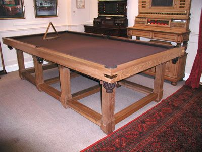 Handmade Bespoke Pool Table in Switzerland