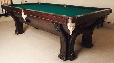 Brunswick American Pool Table, Switzerland