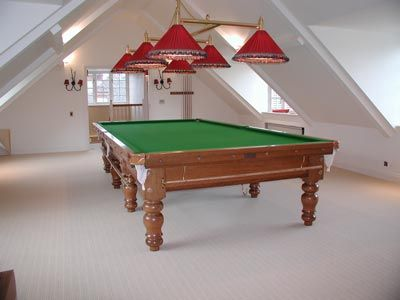 Snooker Games Room in Spain
