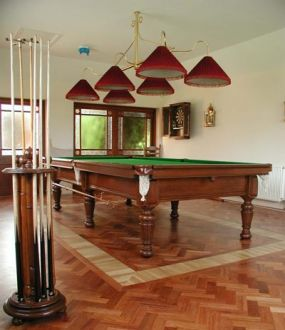 Antique Billiard/Pool Table, Milan, Italy