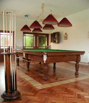 Antique Billiard/Pool Table, Milan, Italy