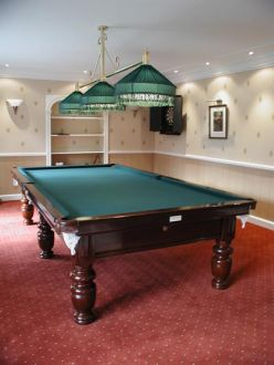 Antique Pool Tables, Italy