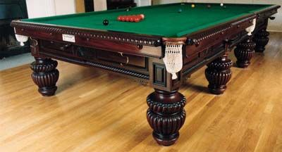 Billiard Tables in Athens, Greece
