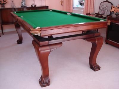 Antique Billiard/Dining Table in Paris France