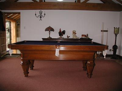 French Pool Table in Oak