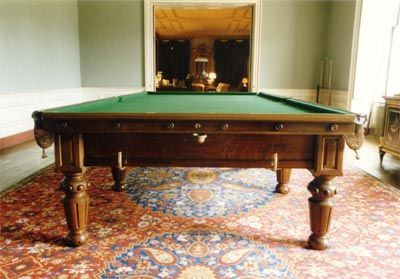 Billiard/Snooker Table Restoration - Althorp