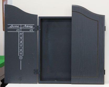 Pro-Black Dartboard Cabinet