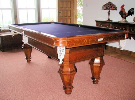 French Snooker Table