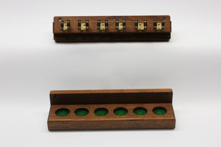 6 cue wall rack for snooker